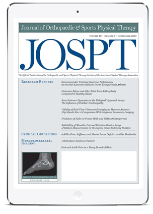 JOSPT Journal
