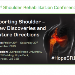 2ND SHOULDER REHABILITATION CONFERENCE