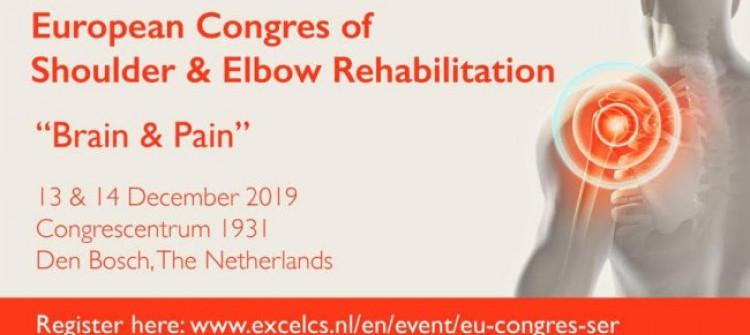 "European Congres of Shoulder & Elbow Rehabilitation - ""Brain & Pain"""