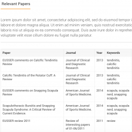 New papers available in Your EUSSER page !