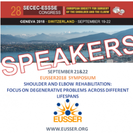Speakers EUSSER Symposium 2018: Ian Horsley